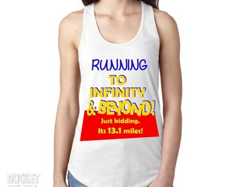 Running to Infinity & Beyond - Disneyland 5k, 10k, Half Marathon Tank