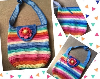 Crocheted Holiday Bag
