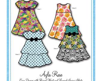 Bonnie Blue Designs 146 - Ayla Rose / Sizes 2 yrs - 8 yrs