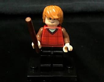 Ron Weasley Harry Potter Minifigure Red Custom Minifigures