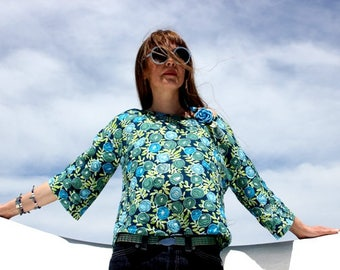 Beautiful Cotton Top (w/ long sleeves) (NW-27)