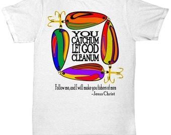 Let God Cleanum Tee (white)