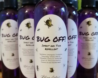 BUG OFF!! Organic Tick and Insect Repellent!