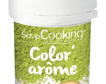 Color'arôme vert / pistache 10g - Scrapcooking