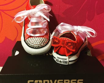 Red crystal converse