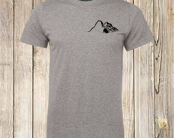 Mountain Shirt, Mountain T-shirt,HIKE, Mountain Tshirt, Mountains Are Calling, Camping Shirt