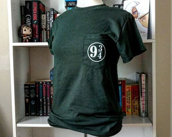Platform 9 and 3/4 Pocket Tee