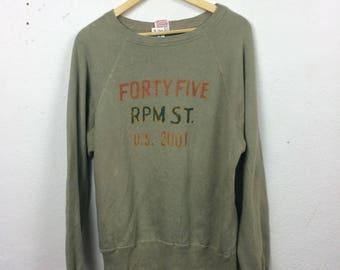 Vintage 45rpm Sweatshirt Size L Japan Designer