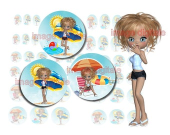 digital images to print miss Beach
