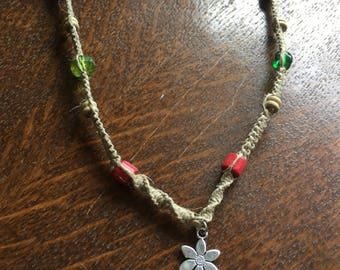 Long Women's Lotus Necklace
