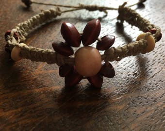 Flower women's bracelet