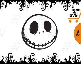 svg Jack Skellington, svg The Nightmare Before Christmas, Archivo file jpg psd ai dxf eps jpg pdf png svg. Silueta corte cricut.  tim burton