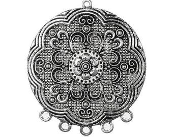 Round pendant Tibetan style