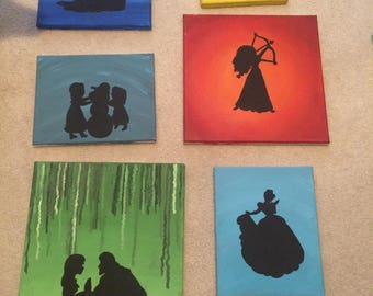 Disney Canvas Painting