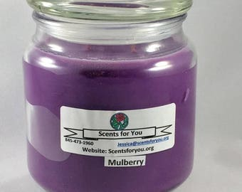 Mulberry Large Candle