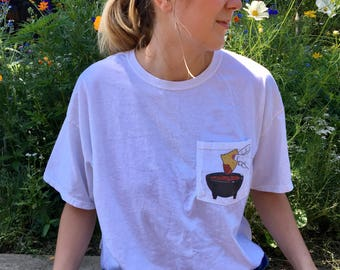 Chips and Salsa Pocket Tee