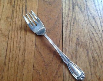 Wellington by Durgin monogrammed fork