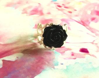Rose Fillagree Ring