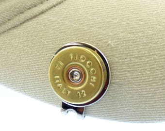 Shotgun Shell Hat Golf Ball Markers