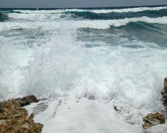 Cozumel Photography- Thundering Splash