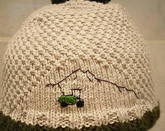Bobble hat with individual design