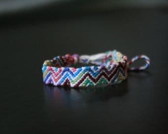 Zig Zag Friendship Bracelete