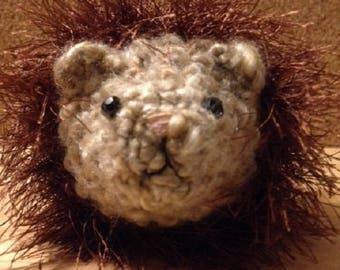 hedgehog, crocheted, stuffed animal
