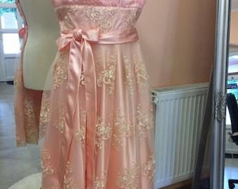 Vintage style lace dress