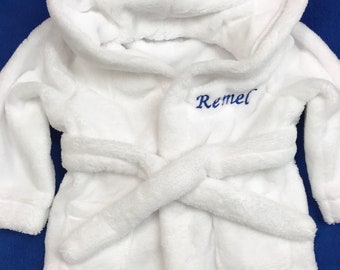 Personalised Embroidered bathrobes super soft and great quality any name or initials