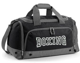 iLeisure Boxing Holdall Printed Kit Bag.