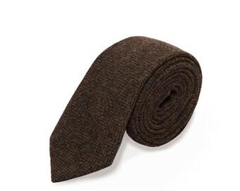 de MORÉ - Brown wool tie