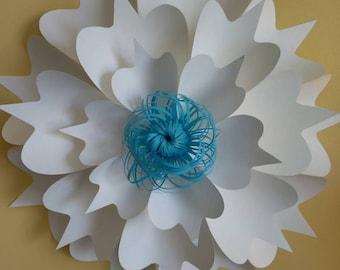 Paper flower decoration #4