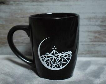 Night Court Symbol Coffee Tea Mug Black