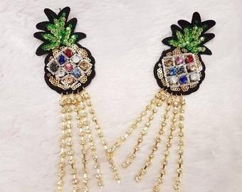 Ellen pineapple earring