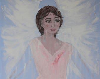 Angel-Acrylic on canvas