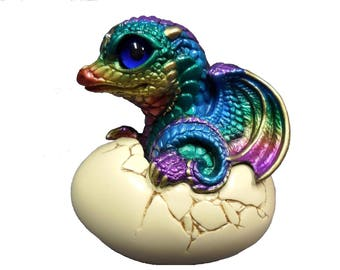 Hatching  Dragon Cross Stitch Pattern