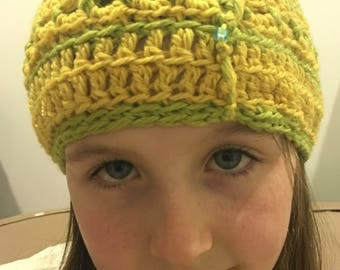 Child's Crocheted Beanie