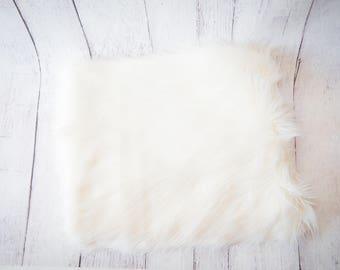 Newborn Long Pile Mongolian Fur Fabric