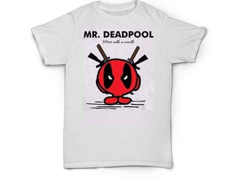 Customers Designed Little Deadpool T Shirts