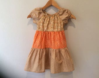 Girl's Ruffle Dress - Size 5