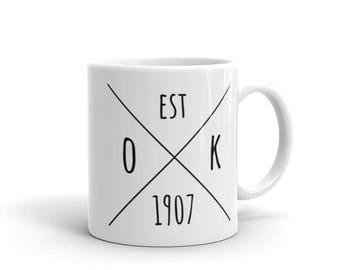 Oklahoma Statehood - Coffee Mug