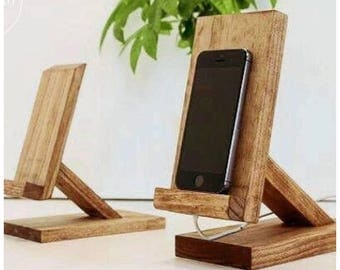 Iphone stand docking station charger