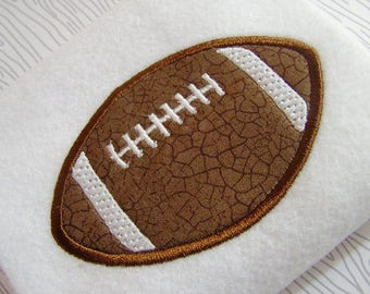 applique football machine embroidery instant download design, embroidery football, sports appliqué design, football sports