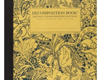 Decomposition Book: College-Ruled Composition Notebook With 100% Post-Consumer-Waste Recycled Pages