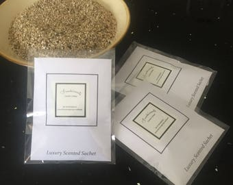 Fragranced sachets