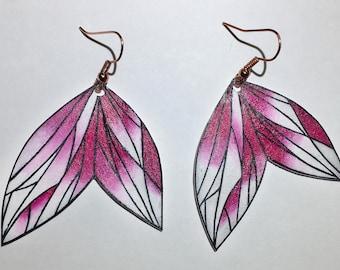 Pointed edged Polygons earrings Earrings/polygons