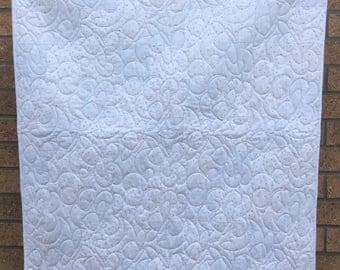 Handmade baby /toddler cot quilt