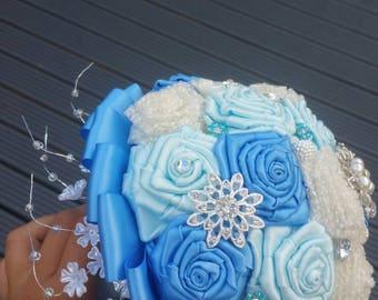 Bespoke Brooch Wedding Bridal Bouquet