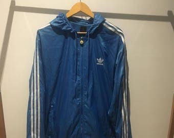 Blue Adidias Jacket