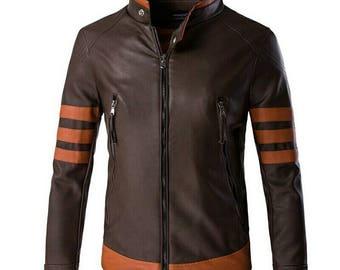 Wolverine Logan Cosplay Costume Jacket